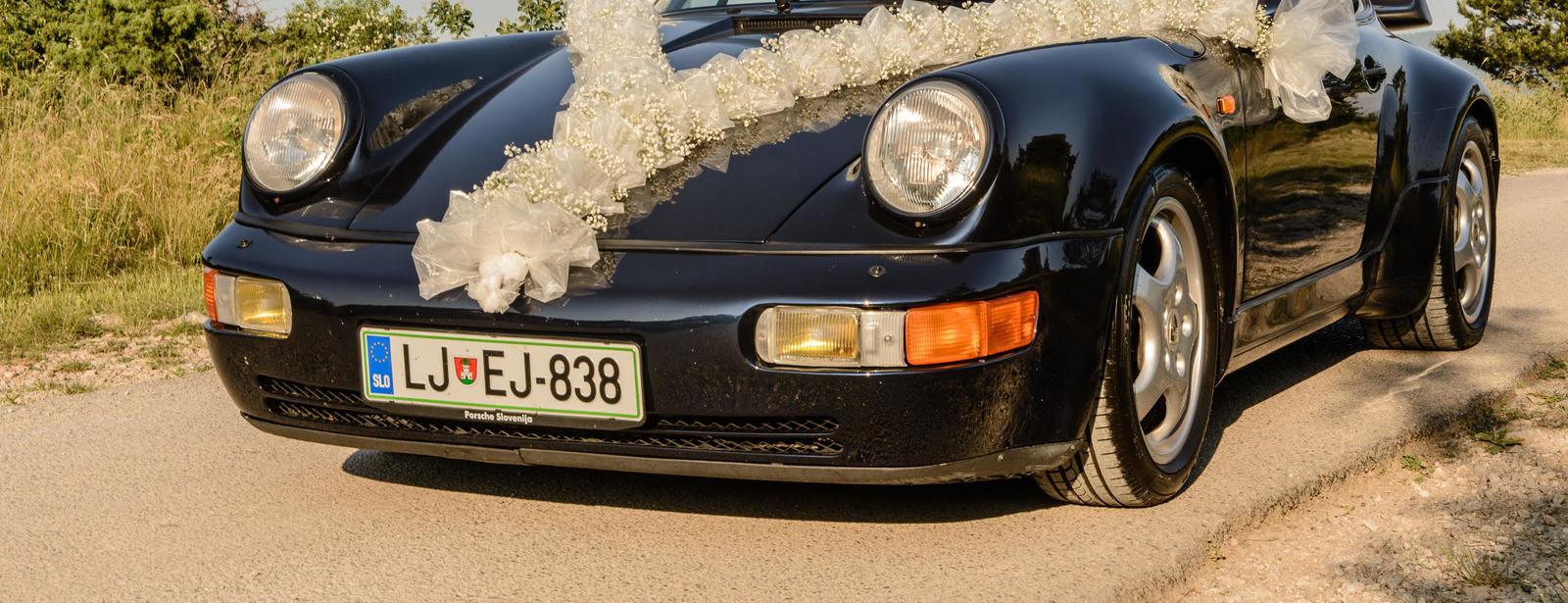 964 Turbo Avtomobili Clanov Porsche Klub Slovenija